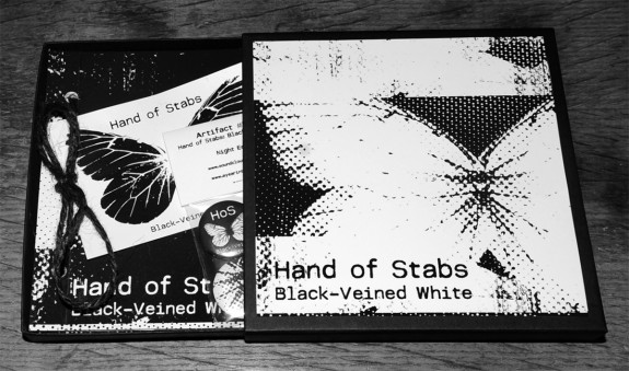 Hand of Stabs-Black-Veined White-Night Edition-open box-A Year In The Country