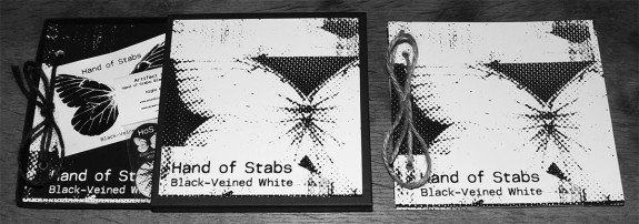 Hand of Stabs-Black-Veined White-both editions-A Year In The Country