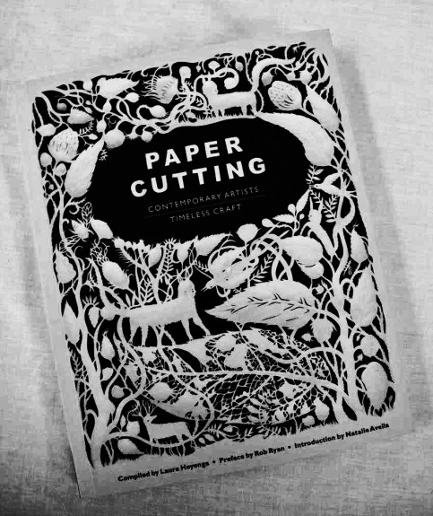Papercutting book-Laura Heyengs-Rob Ryan-Natalie Avelia-A Year In The Country