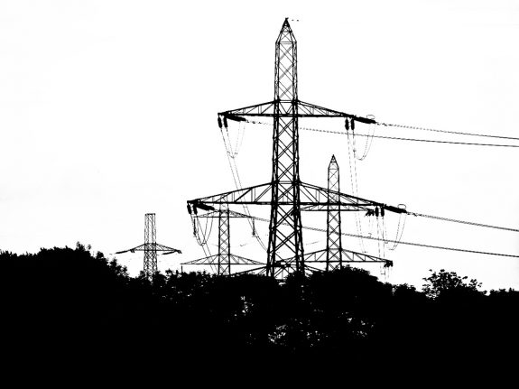 Telegraph Poles and Electric Pylons-A Year In The Country-2