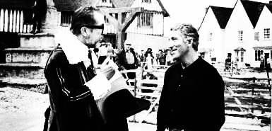 Vincent Price-Tony Tenser-Witchfinder General-on set-A Year In The Country