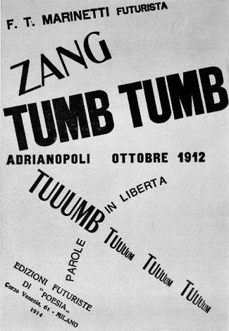 ZangTumbTumb-1914-Futurist-Futurism-A Year In The Country