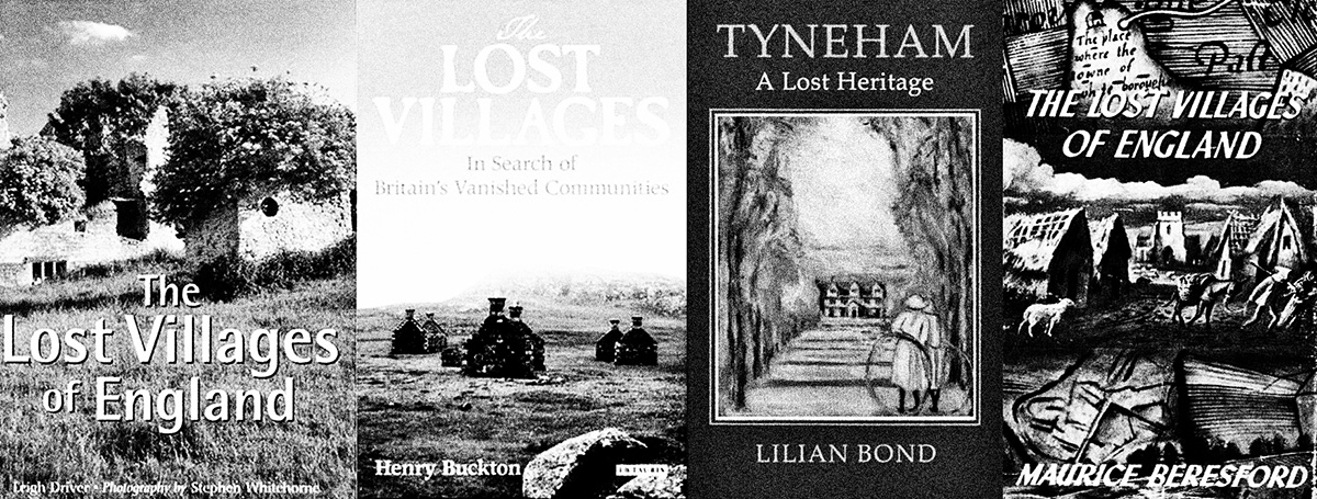 The Quietened Village-A Year In The Country-Leigh Driver-Stephen Whitehome-Henry Buckton-Trevor Rowley-John Wood-Maurice Beresford-Lost Villages-v2