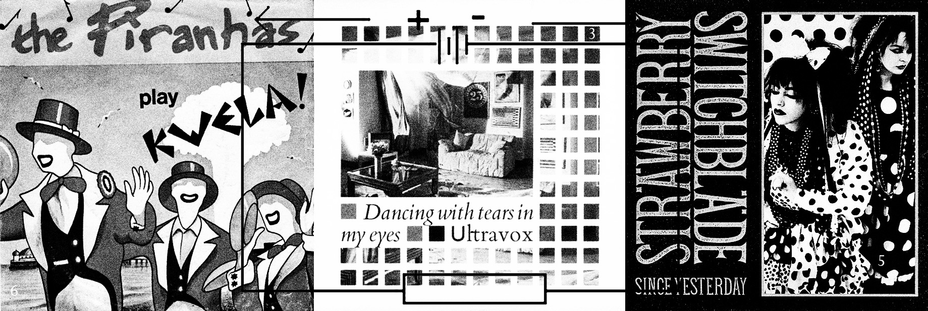 The Pirahnas-Tom Hark-Dancing With Tears In My Eyes-Ultravox-Strawberry Switchblade-Since Yesterday-Trailblazers-Sky Arts-A Year In The Country