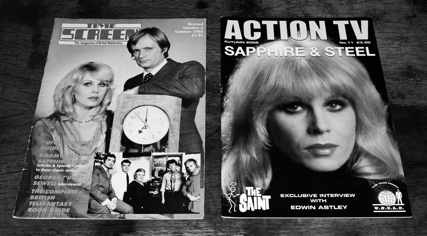 sapphire-steel-time-screen-1989-action-tv-11-2005-magazines-fanzines-a-year-in-the-country