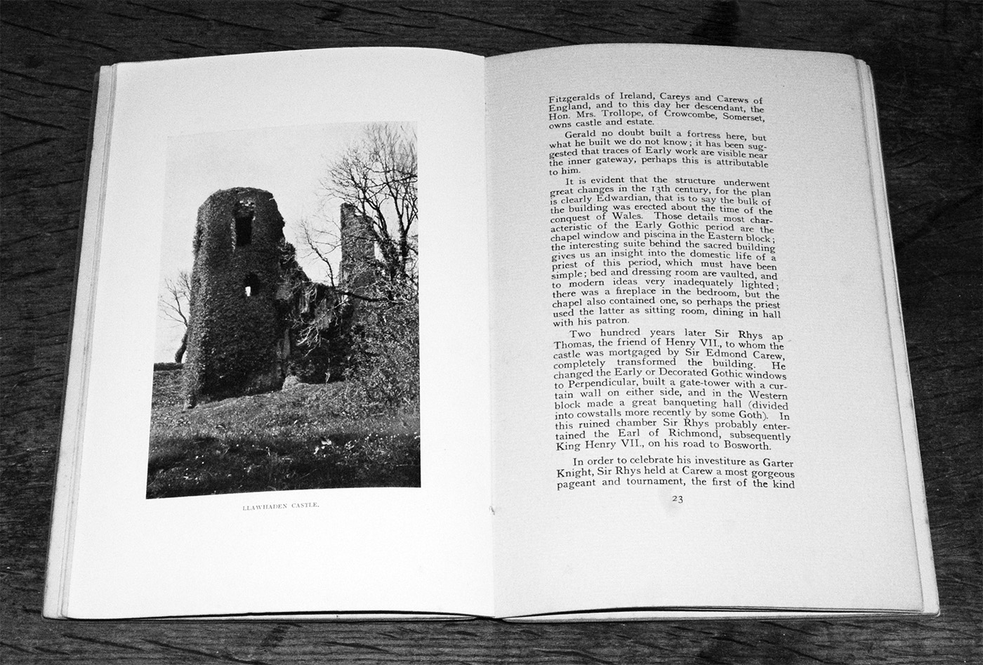 Castles and Strongholds of Pembrokeshire-book-Emily Hewlett Edwards-4