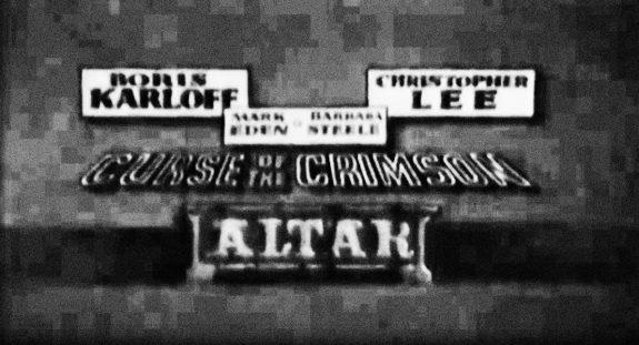 Curse Of The Crimson Altar-Super 8 version