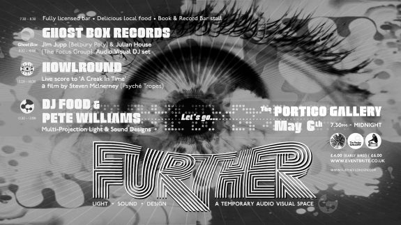 Further-Portico Gallery DJ Food-flier