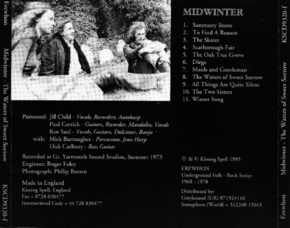 Midwinter-The Waters Of Sweet Sorrow-Erewhon-Kissing Spell-acid psych underground folk-4