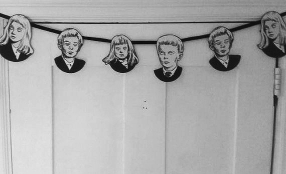The Village Of The Damned Midwich Cuckoos bunting-heykidsrocknroll