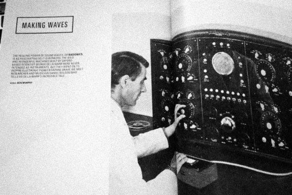 Electronic Sound magazine-Radionic Radio album