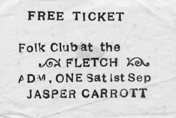 Jasper Carrott at the Fletch-invite-A Year In The Country