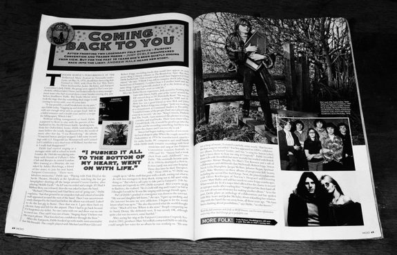 Judy Dyble-The Lost Women Of Folk-Mojo magazine-Andrew Male