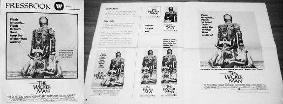 The Wicker Man 1973-US press book