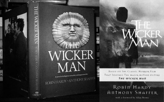 The Wicker Man-1st edition and new edition book-Robin Hardy-Anthony Shaffer-foreword Allan Brown