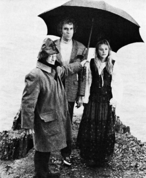 Willow Umbrella-Christopher Lee-The Wicker Man-1973