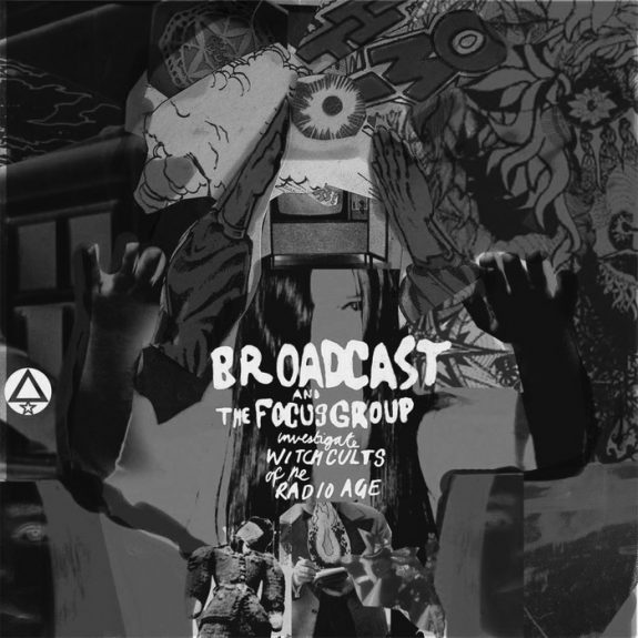 Broadcast and the Focus Group investigate witchcults of the radio age-album cover-warp records-Ghost Box records