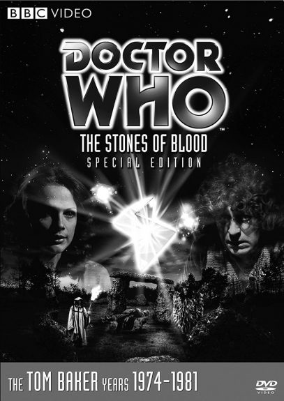 Doctor Who-The Stones of Blood-DVD cover-Tom Baker
