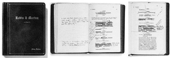Robin and Marian-1976-Audrey Hepburn's script