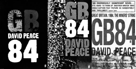 GB84-David Peace-UK book cover variations