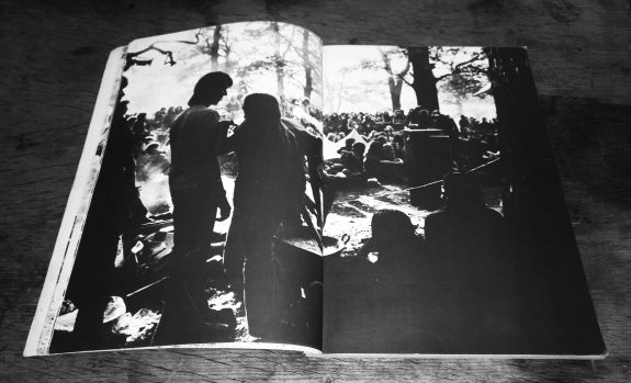 Jeremy Sandford and Ron Reid-Tomorrows People-British festival photography book-1974