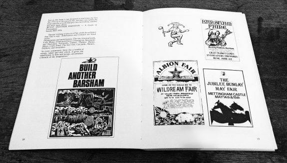Richard Barnes-The Sun in the East-British festival book-1983-Norfolk and Suffolk Fairs-Albion Barsham-9-fliers and posters
