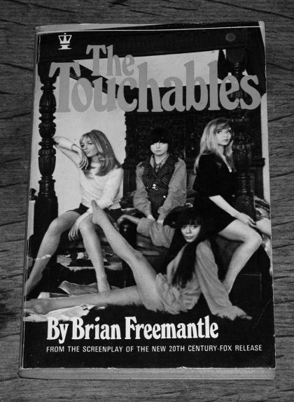 The Touchables-Brian Freemantle-book-novelisation-Robert Freeman 1968 film