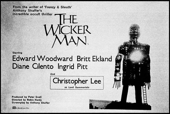 The-Wicker-Man-poster-1973-Anthony Shaffer-Peter Snell-Robin Hardy