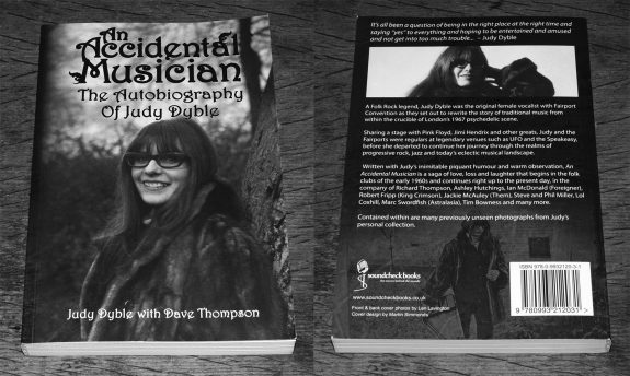 An Accidental Musician-The Autobiography of Judy Dyble-with Dave Thompson