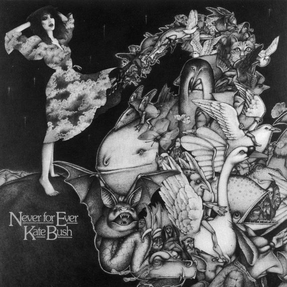 Kate Bush-Never For Ever-album cover art