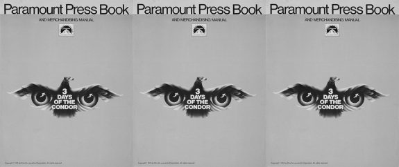 Pressbook-3 Days of the Condor-1975