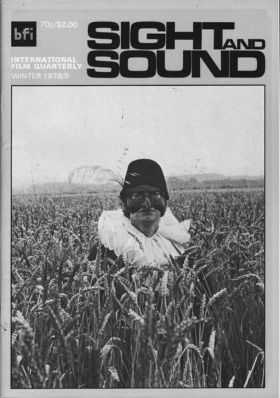 Sight and Sound-film magazine-BFI-Winter 1978-1979