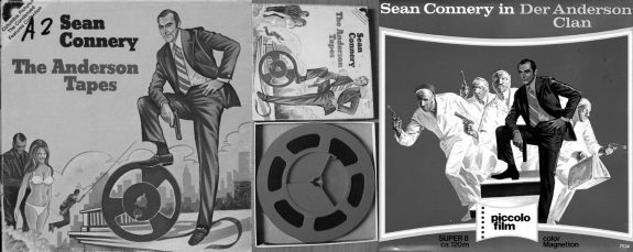 The Anderson Tapes-Super 8-covers and film reel