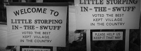 The Avengers-Series 5-1967-Murdersville-village sign