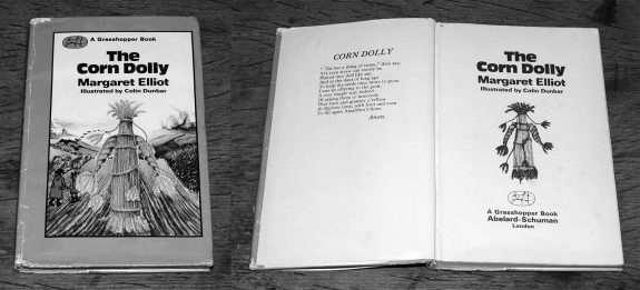 The Corn Dolly-Margaret Elliot-Colin Dunbar-book-1976-folklore