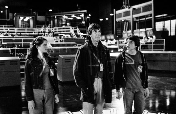 WarGames-Sheedy-and-Broderick-with-Professor-film still