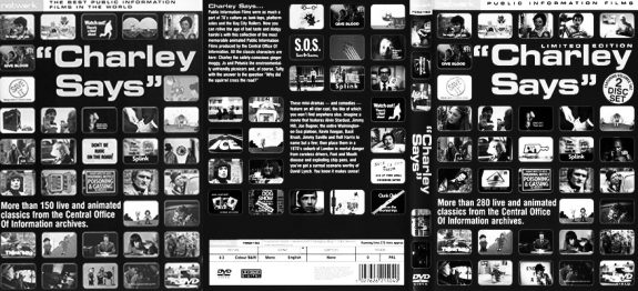Charlie-Says-Public-Information-Films-DVD covers
