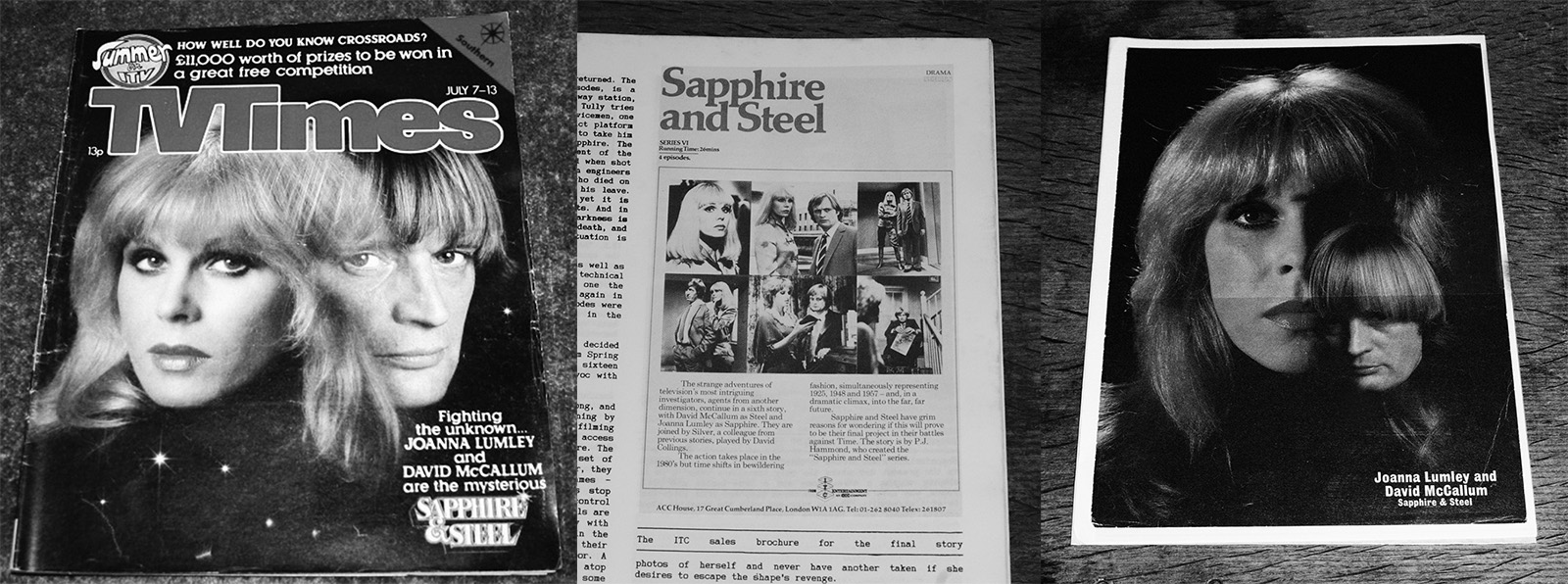 Sapphire and steel (a titles & air dates guide).