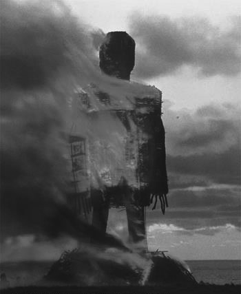 The Wicker Man-1973-film still-statue