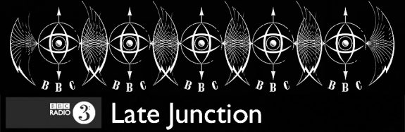 BBC-vintage logo-plus Late Junction Radio 3 logo-higher contrast