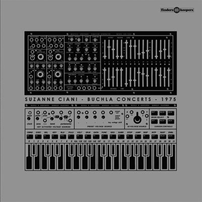 Suzanne Ciani-Buchla Concerts-1975-Finders Keepers Records-album cover art