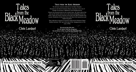 Tales from the Black Meadow-Chris Lamber-Nigel Wilson-book-front and back covers