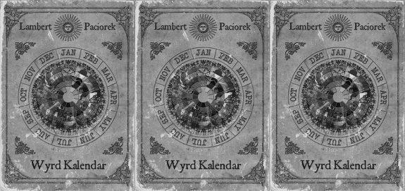 Wyrd Kalendar-book cover-Chris Lambert-Andy Paciorek-Folk Horror Revival-Wyrd Harvest Press