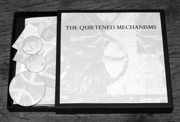The Quietened Mechanisms-Nightfall edition-opened box-A Year In The Country CD album