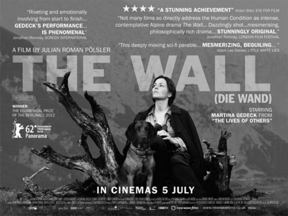 The Wall-Die Wand-Roman Posler-Martina Gedeck-film poster 2012