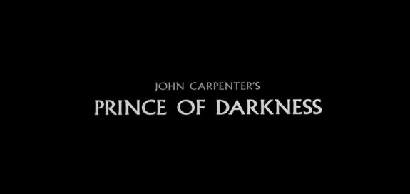 prince of darkness title-John Carpenter-1987