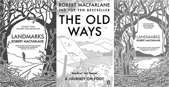Robert Macfarlane-book covers-Landmarks-The Old Ways
