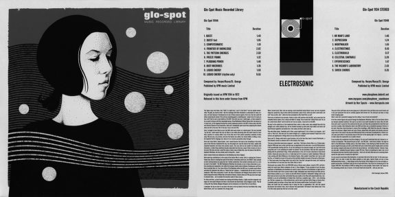 Glo Spot Music Recorded Library-Electrosonic-Delia Derbyshire-album artwork-sleeve