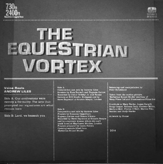 The Equestrian Vortex-Voice Reels-Andrew Liles-vinyl release