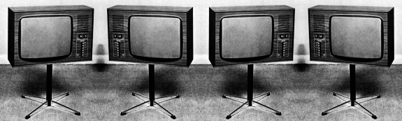 Philips1970BW1-1970s television set